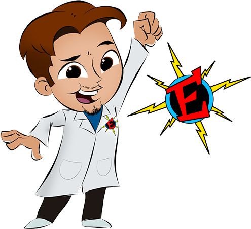 Eric Energy-Science shows for kids. Preschool, special events, kids birthday party, and stem nights.