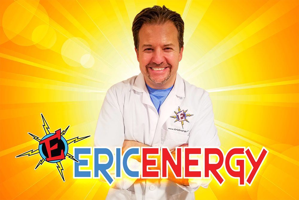 Eric Energy Science Show Entertainer for Kids | Baltimore, Columbia, Maryland, Washington DC, Pennsylvania, Virginia
