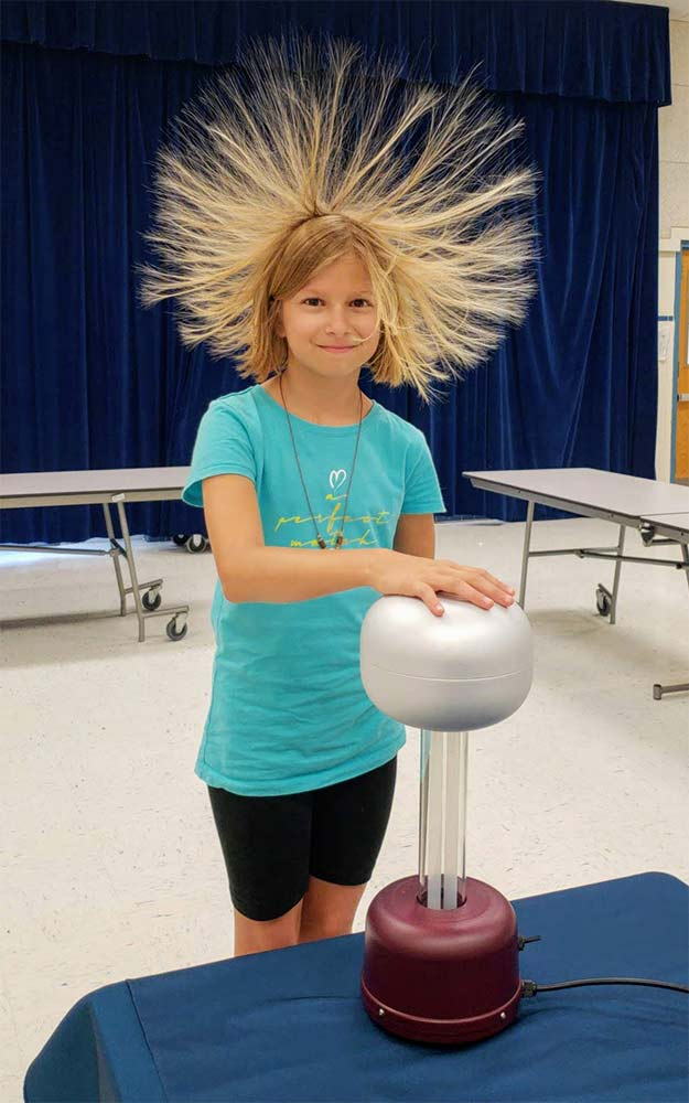 Eric Energy Science Shows for Kids and Adults, Spark Attack